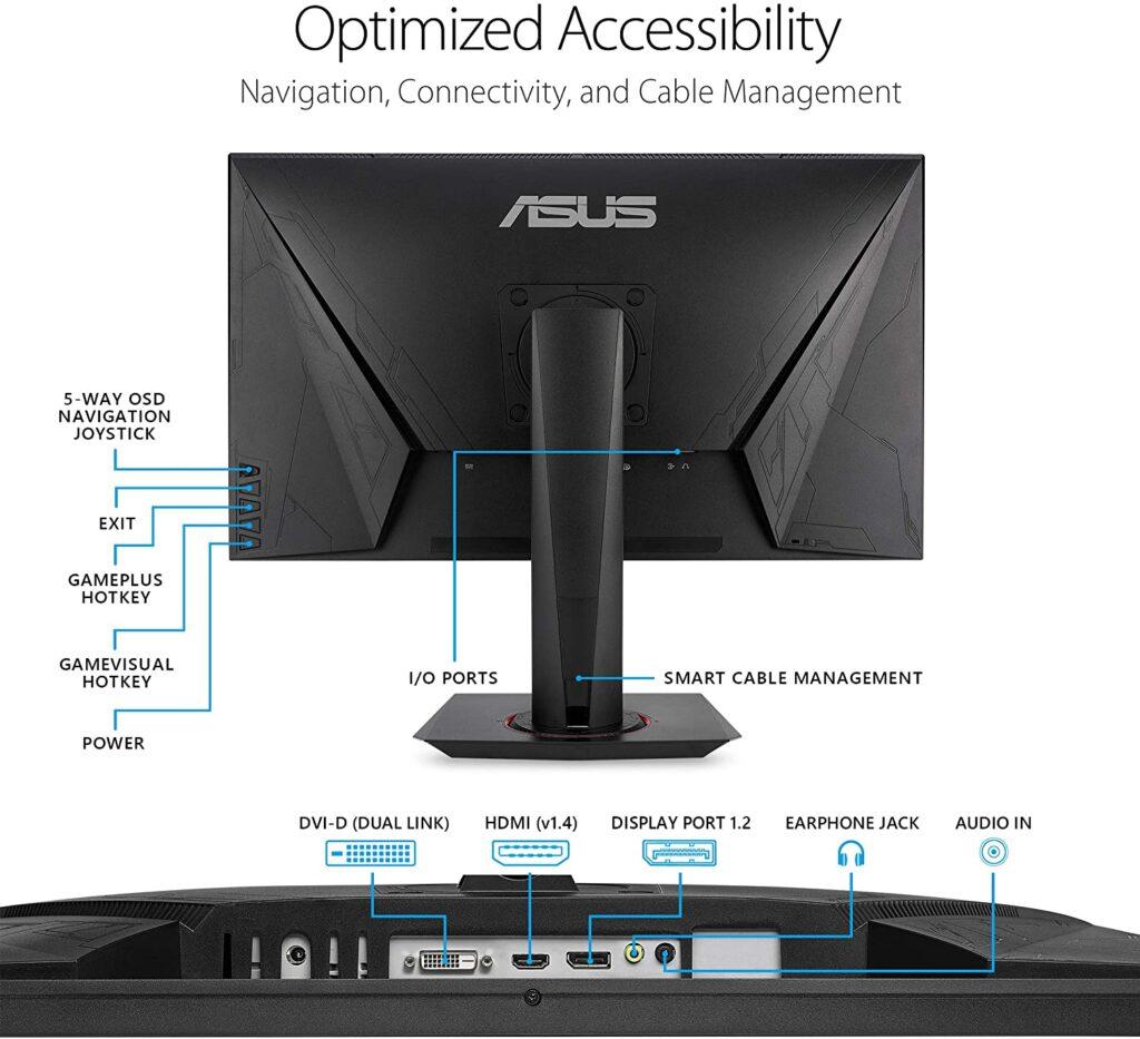 ASUS VG278QR monitor gaming