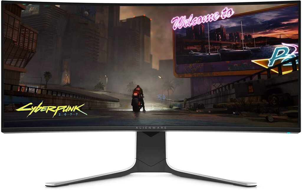 Alienware AW3420DW monitor gaming